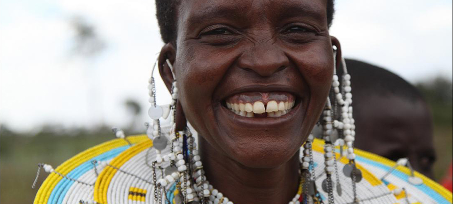 massai smiling